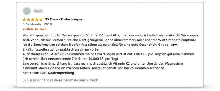 natural elements erfahrungen bewertungen test  vitamin d3